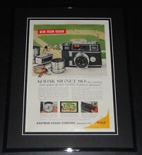 1959 Kodak Signet 80 11x14 Framed ORIGINAL Vintage Advertisement Poster
