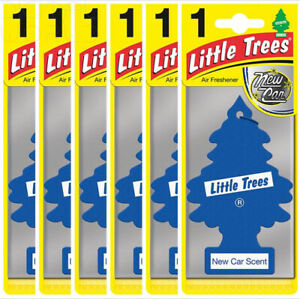 Air-Freshener-LITTLE-TREES-039-Tree-039-039-New-Car-039-Fragrance-MTZ02-For-Car