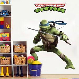 Image Is Loading Leonardo Age Mutant Ninja Turtles Wall Decals Stickers