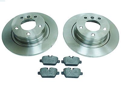 Brake Discs 280mm Solid For BMW 1 Series 116i 116 D 118i 118 D Rear Brake Pads