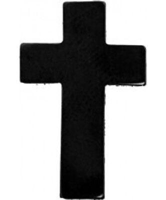 SILVER CROSS COLLAR LAPEL HAT PIN US JESUS GOD CHAPLAIN CLERGY PASTOR PRIEST