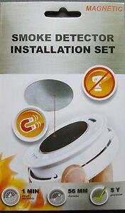 5-x-Smoke-Detector-Magnetic-Mount-Magnet-Mounting-Set-3M-Mount