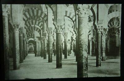Altes Glas Dia Th. Benzinger: Cordoba Inneres Der Moschee Spanien Eine Hohe Bewunderung Gewinnen