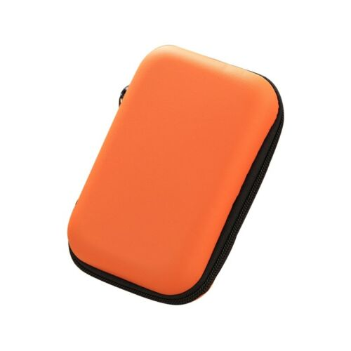 Mini Storage Box Portable Earphone Cable Pouch Coin Card Organizing Bag Multiuse