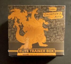 Pokemon English Elite Trainer Box Champion's Path - Factory Sealed