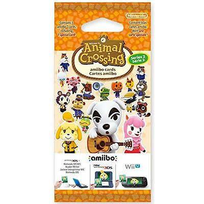 Animal Crossing: Happy Home Designer Season 2 amiibo Cards 3 Pack NEW & SEALED