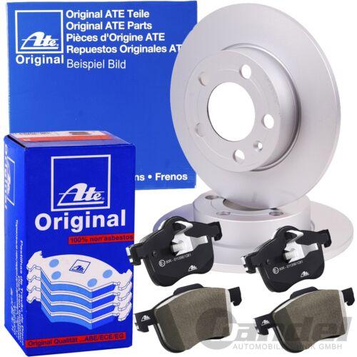 Uat Disques de frein 238x8mm plaquettes de freins avant renault twingo 1 I c06