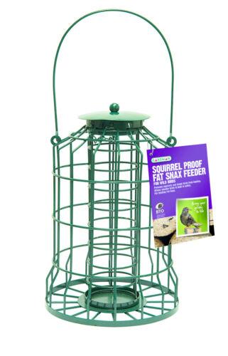 Gardman Scoiattolo A Prova Di Guardia Bird Fat Snax Alimentatore giardino vassoio da appendere a01622