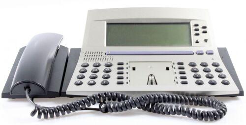 AAstra Ascom Office 45 Systemtelefon silber MwSt. inkl ohne Plastikabdeckung