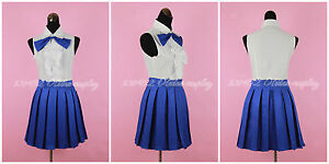 Fairy-Tail-Erza-Scarlet-Daily-Clothing-Cosplay-Halloween-Costume-Custom-Made