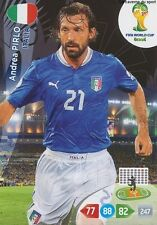 N°213 ANDREA PIRLO # ITALIA PANINI CARD ADRENALYN WORLD CUP BRAZIL 2014