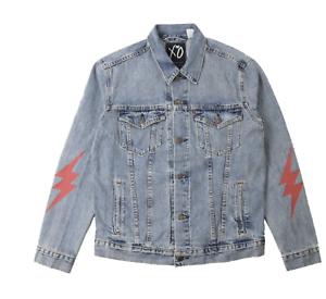 The weeknd x levis starboy denim jacket medium ebay image is loading the weeknd x levis starboy denim jacket medium gumiabroncs Choice Image