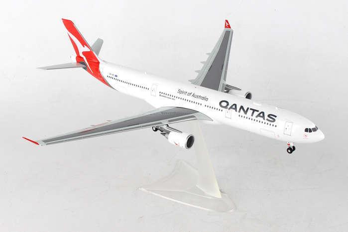 HE55853 Herpa Wings Qantas Airways Airbus A330-300 1 200 nouvelle livrée Modèle 2016