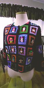 NWOT-Michael-Simon-Event-Christmas-Holiday-Cardigan-Sweater-XL
