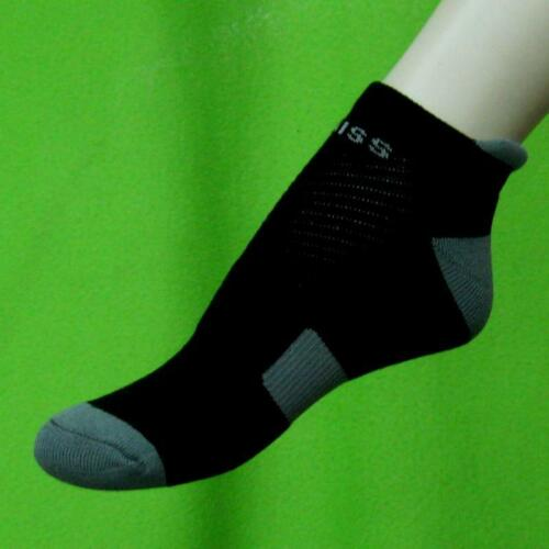 Mens Elastic Neoprene Ankle Support Protection Sport Low Cut Socks Injury Sprain