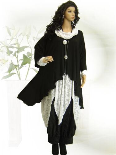 PoCo-DeSiGn LAGENLOOK Tunika Long-Shirt Ballon-Kleid 44 46 48 52  L-XL-XXL-XXXL