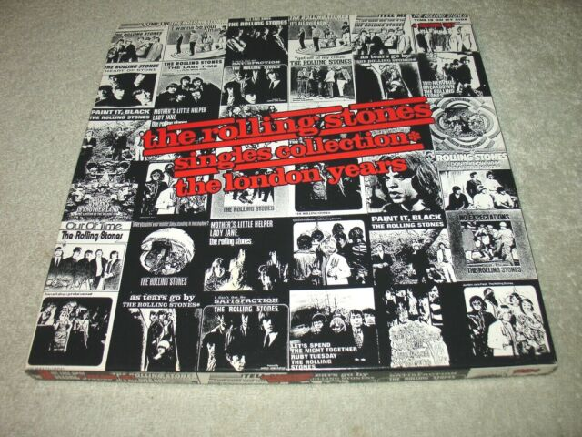 The Rolling Stones Singles Collection The London Years - 4 LP SET Vinyl UNPLAYED