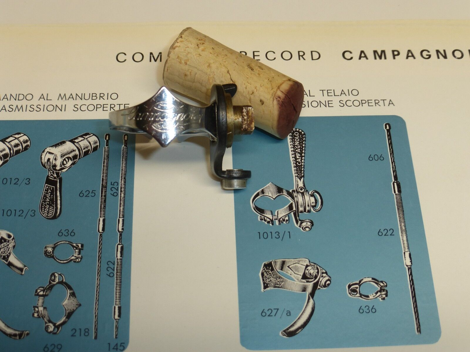 Rare Vintage - NOS  - Campagnolo RIGHT Side Only -  Control Clamp Only  for your style of play at the cheapest prices
