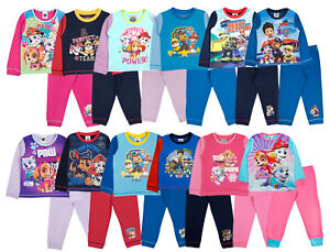 Nickelodeon Paw Patrol Pyjamas Boys Girls 2 Piece Full Length Pjs ... edecaf2d9
