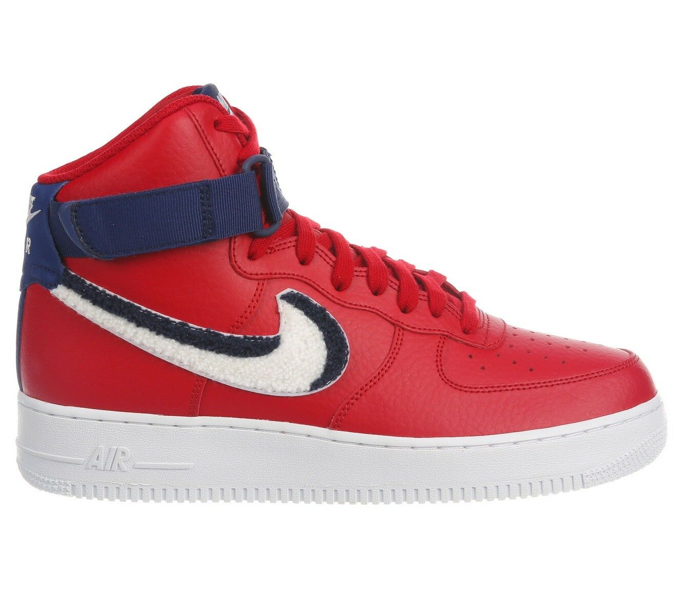 Nike Air Force 1 High '07 LV8 Varsity Mens 806403-603 Red Blue Shoes Comfortable Seasonal clearance sale