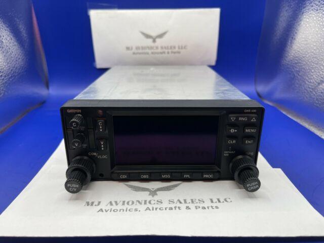 GARMIN GNS 430 GPS/NAV/COM 14/28 VDC P/N 011-00280-10 WITH FAA FORM 8130-3