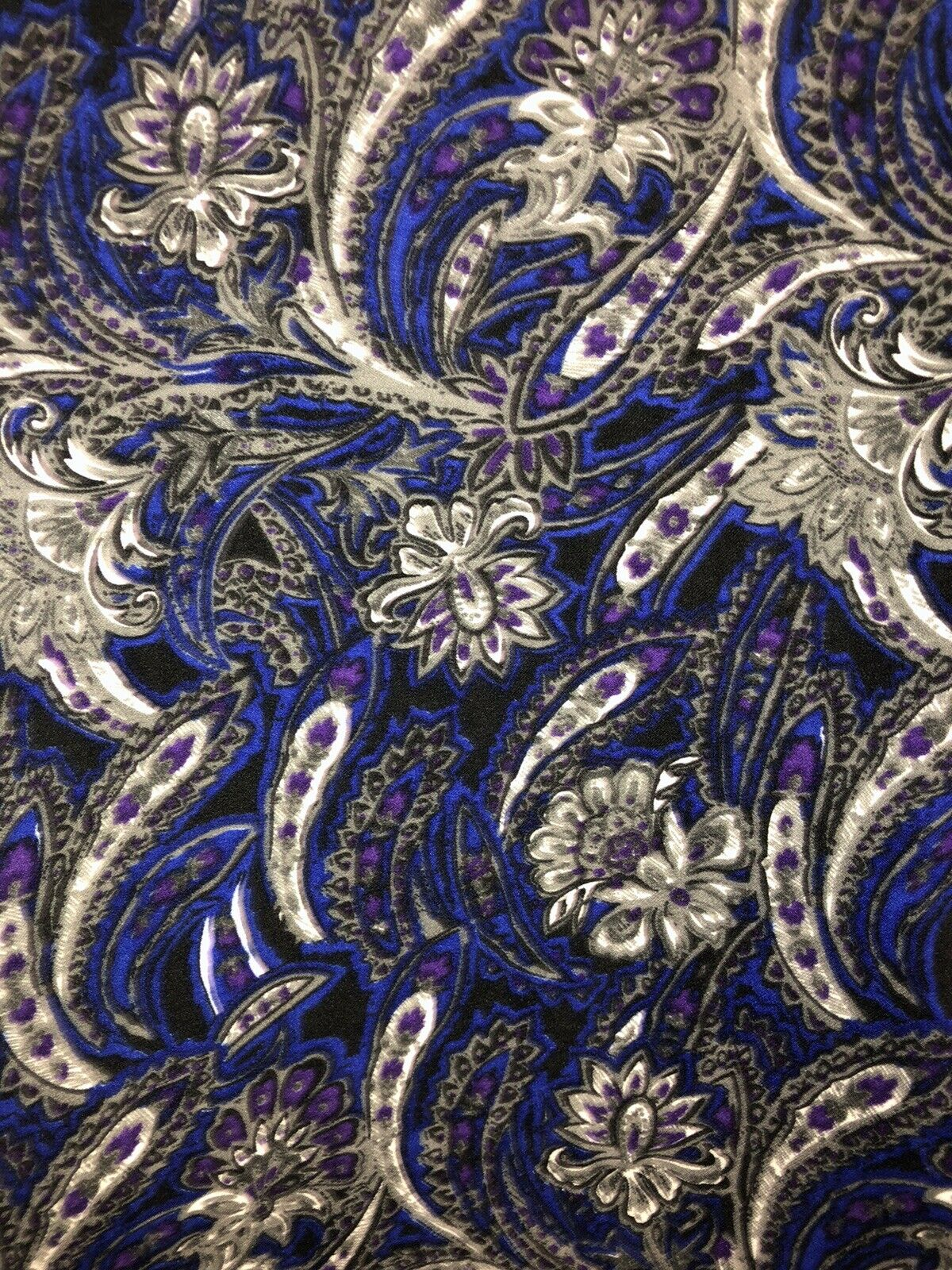 CHRISTOPHER & BANKS Paisley Unlined Jacket Zip Fr… - image 6