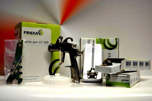 FINIXA Spritzpistole LVLP 4X Düsensätze  1,3mm+1,8mm+2,0mm+2,5mm  Art.SPG500