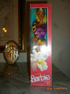 1985 Barbie Tropical Tropiques European Hawaiian Superstar Picture Pretty House Rinfrescante E Arricchente La Saliva
