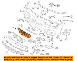 image is loading bmw-oem-13-16-328i-front-bumper-lower-