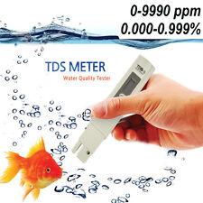 Digital Fish Tank Pond Salt Water Pool Quality Purity Tester Hydroponics Meter