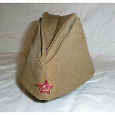 Soviet (USSR) Russian Red Army soldier garrison field cap military surplus