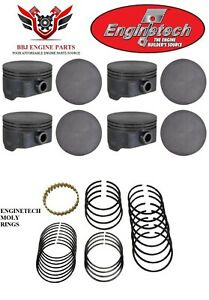 8-ENGINETECH-GM-CHEVROLET-4-8-5-3-GENIII-GENIV-NEW-FLAT-TOP-PISTONS-AND-RINGS