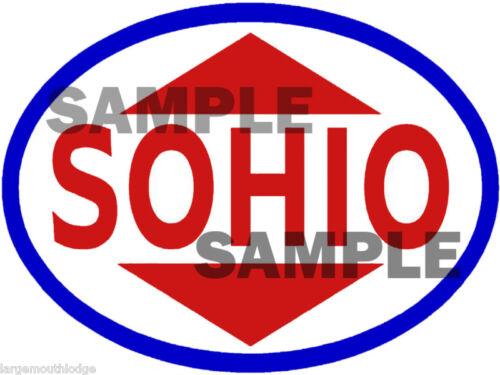 SOHIO DECAL STICKER 4 INCH