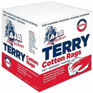 image is loading cotton terry cloth cleaning towels rags dispenser box - Box Of Rags