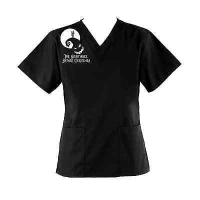 The Nightmare Before Christmas Scrub Top