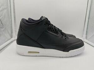 Nike Air Jordan 3 Retro BG UK 4.5 Black