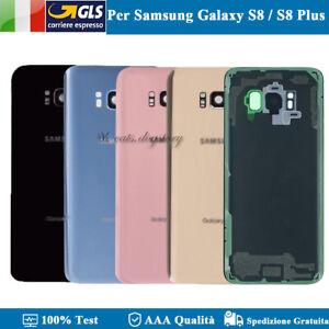 SCOCCA POSTERIORE SAMSUNG S8 G950 G950F / S8 PLUS G955 G955F COPRI BATTERIA