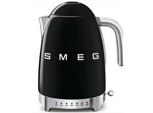 mit variablen Temperaturen 1,7 L Smeg KLF04BLEU Wasserkocher 50/'s Retro Style