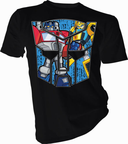 Transformers Optimus Prime e Bumblebee Adulti /& Bambini T-shirt