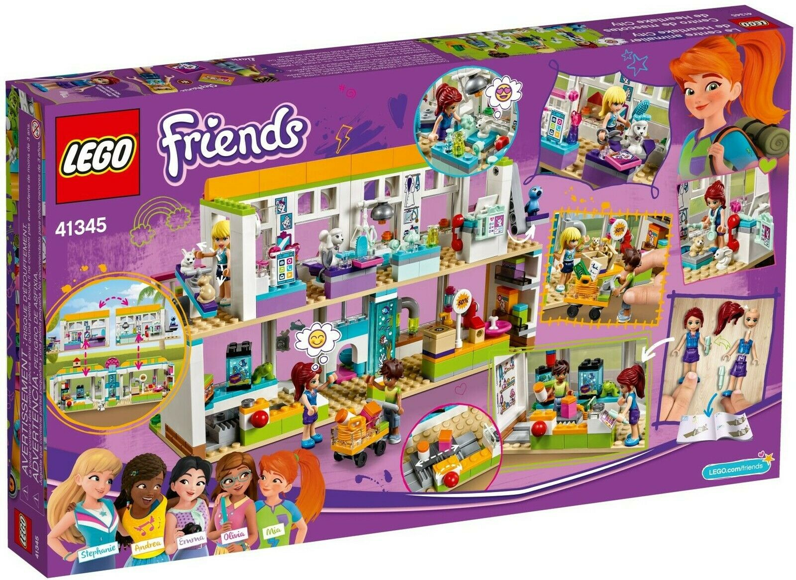 LEGO® Friends Friends Friends 41345 Heartlake City Haustierzentrum NEU OVP_ NEW MISB NRFB 516538