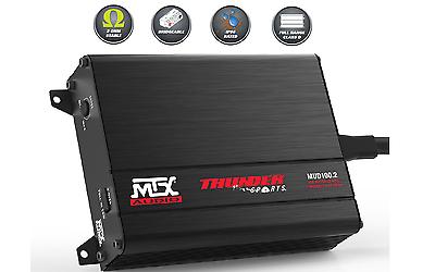 MTX MUD100.4 400W RMS 4-Channel Powersports Amplifier FREE SHIPPING WARRANTY