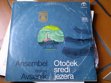 """LP 12"""" OTOCEK SREDI JEZERA ANSAMBEL BRATOV AVSENIK COVER EX VINYL EX++"""