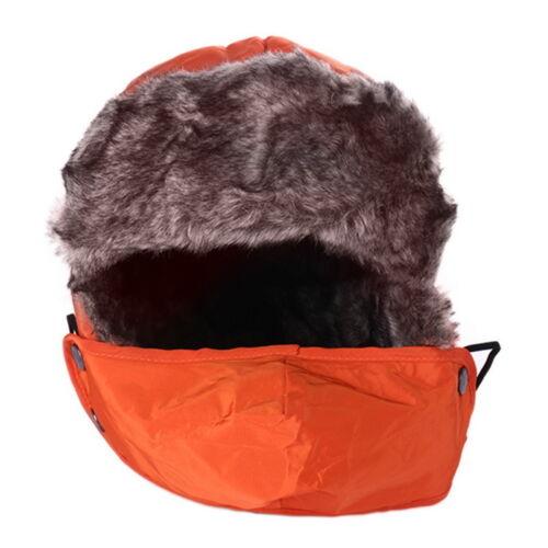 Men Women Winter Trooper Trapper Warm Hat Ushanka Ear Flap Windproof Mask Cap