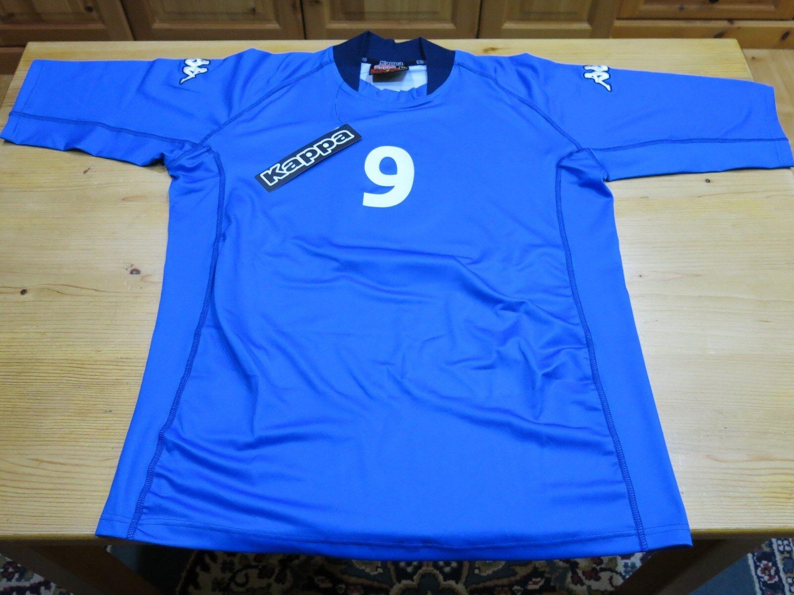 Original Kappa Italien Fußball Trikot Jersey Jahr 2001 Gr. XL (wie L)  | Vorzügliche Verarbeitung