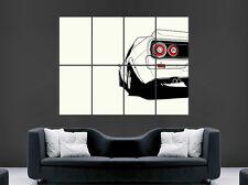 NISSAN SKYLINE CAR REAR POSTER WALL ART IMAGE PRINT LARGE GIANT