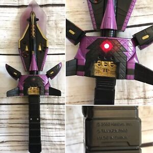 Transformers Armada Star Sabre sword toy with sounds, Hasbro, Takara 2002