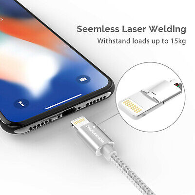 UNBREAKcable Lightning iPhone Charger Cable [Apple MFi Certified] 6.6ft2m Nyl 726084466838   eBay