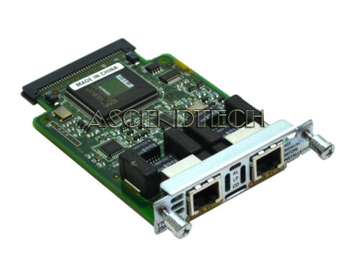 CISCO VWIC-2MFT-T1 NETWORK INTERFACE MODULE ROUTER TRUNK CARD 800-04477-03 F0 US