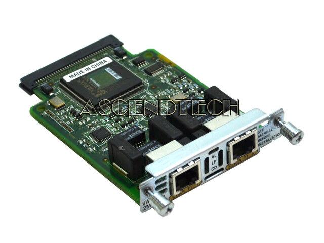 CISCO VWIC-2MFT-T1 NETWORK INTERFACE MODULE ROUTER TRUNK CARD 800-04477-03 F0 US