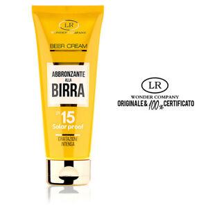 BEER-CREAM-protezione-solare-fattore-15-alla-birra-100-ml-LR-WONDER-COMPANY